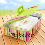 Szögletes összecsukható hűtartó táska