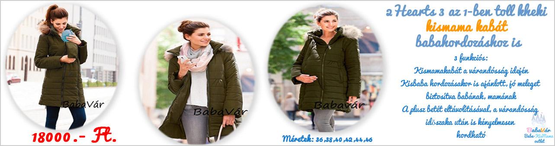 2Hearts kismama kabát