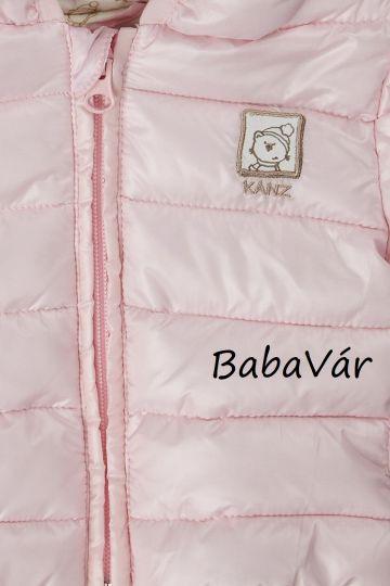 Kanz Balerina kapucnis babakabát rózsaszín