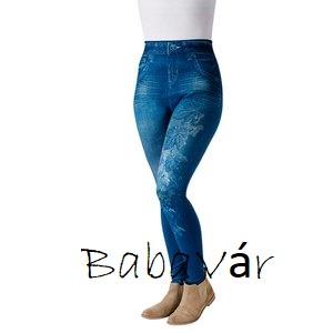 ac3cce184a Alakformáló Farmer hatású Legging- kék leveles | BabaMamaOutlet.hu