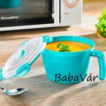 Mikrohullámú csésze zöld