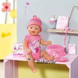 Zapf Creation Baby Born 8 funkciós interaktív baba - lány