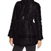 Mama Licious Quilty Fekete kismama kabát