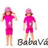 Hyphen pink halas UV szűrős úszófelső