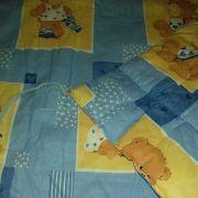 Kék macis nagy játszószőnyeg / járókabetét