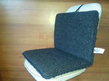 Gyapjú párnázott ülésbetét kerekesszékbe 78 x 48 cm