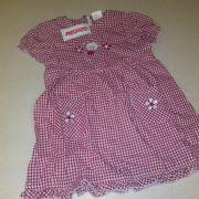 Schnizler kislány kockás vászon nyári ruha