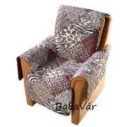 Textil fotelvédő takaró Afrika