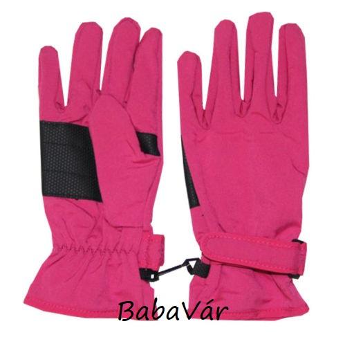 Maximo pink Softshell babakesztyű