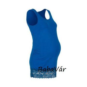 2Hearts Galactic kék csipkés kismama trikó