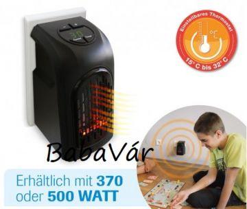 Livington Handy Heater elektromos hősugárzó fali aljzatba