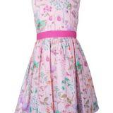 Happy Girls rózsaszín virágos kislány ruha