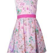 Happy Girls rózsaszín virágos kislány ruha d09f93c1ff