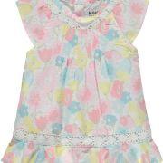 Kanz virágos horgolt kislány ruha