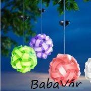 Kerti dekorlámpa: színváltós gömb