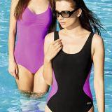 Beco Carvico Fekete / pink alakformáló  szivacsos mellbetétes  Női Fürdőruha