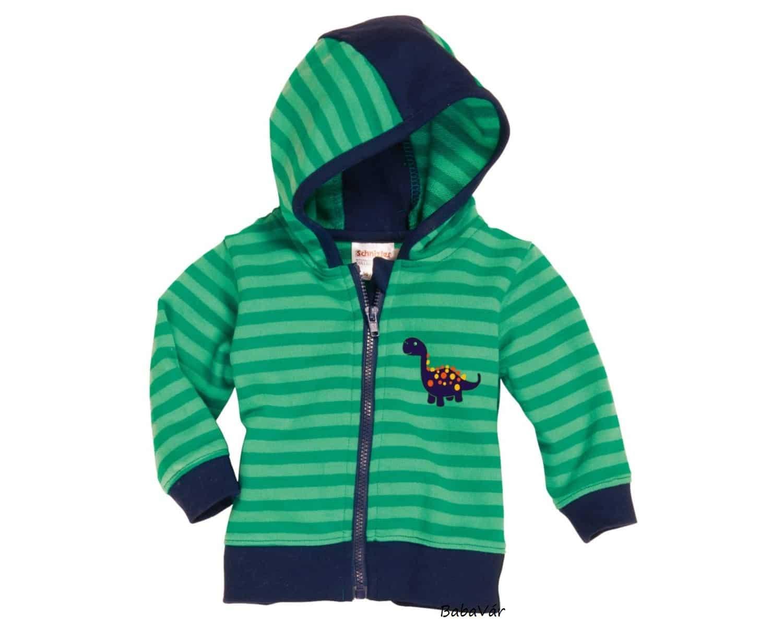 544660e885 Schnizler zöld kék dinós cipzáras baba melegítő felső ...