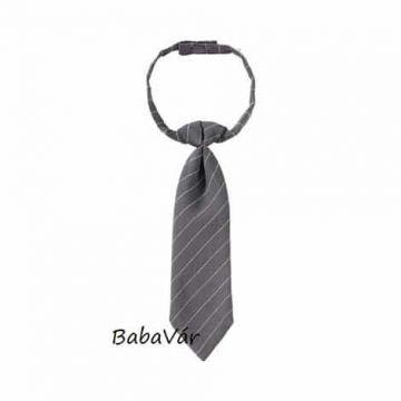 Kisfiú szürke nyakkendős öltöny keresztelőre 4 részes