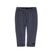 Steiff kék mintás pamut baba legging nadrág