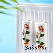 Kerámia párásító radiátorra : Virág