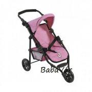 Bayer Chic Jogging Buggy Lola sport babakocsi, melange Pink