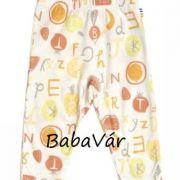Joha Tutti Frutti sárga gyümölcsös baba legging nadrág