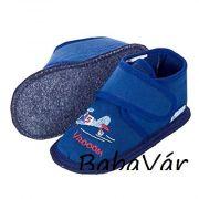 Sterntaler kék repülős babacipő/babamamusz