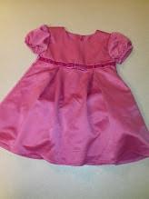 d03b7fbbcf Loki pink alsószoknyás masnis elegáns kislány ruha