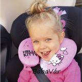 Hello Kitty  plüss gyerek nyakpárna autóba