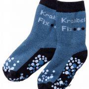 Ewers csúszásgátló baba zokni kék