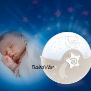 Infantino Bkids projektoros zenélő többfunkciós nyugtató Éjszakai fény