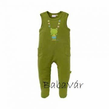 Bornino Confetti Animals zöld zsebes babanadrág