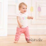 Bornino Confetti Animals rózsaszín babanadrág