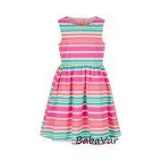 Happy Girls színes csíkos kislány ruha