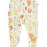 Joha Tutti Frutti sárga gyümölcsös baba lábfejes legging nadrág
