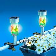 Solár Ledes Kültéri csíptethető lámpa: Kolibri