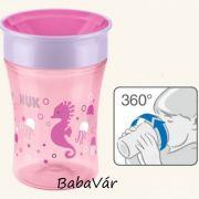 Nuk Magic Cup első tanuló ivópohár rózsaszín
