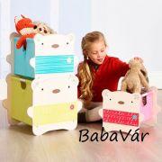 WORLDSAPART  játéktároló box torony Macis