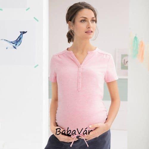 2hearts Sweet Dreams rózsaszín kismama  szoptatós pizsama ... 975aaa5d3d