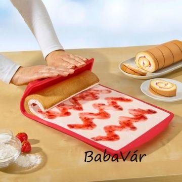 Szilikon tepsi sütőbe süteményhez