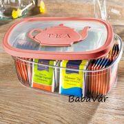 Teafilter tároló doboz