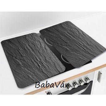 Wenko Főzőlap takaró üveglap szett :kő mintás