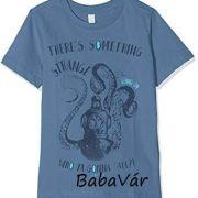 Esprit kék mintás baba póló