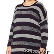 Ulla Popken Plus Size csíkos női pulóver