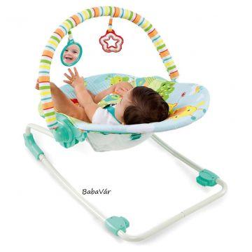 Bright Starts Dzsungel pihenőszék/Relax fotel 18 kg-ig