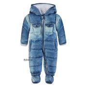 Kanz overall Aop-Multic Little Sneaker allover blue