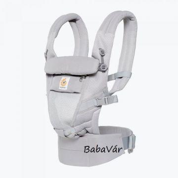 ErgoBaby Adapt carrier multi pozíciós  babahordozó kenguru Cool Air Mesh - Pearl Grey