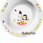 Avent Melamin gyerek tányér Nagy
