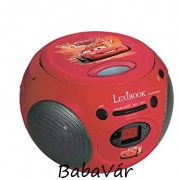 Lexibook Verdás CD lejátszó FM rádióval