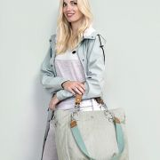 Lässig pelenkázótáska Green Label Mix 'n Match Bag Light grey